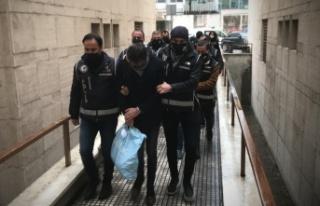 Bursa'da şantaj ve tehdit iddiasıyla 6 şüpheli...