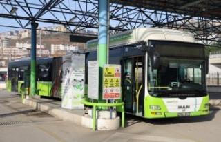 Büyükşehir otobüsleri 1 yılda 29 milyon TL tasarruf...