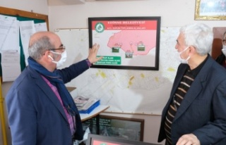 Edirne'de afet ve acil durum toplanma alanları belirlendi