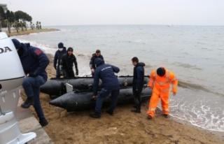 GÜNCELLEME - Yalova'da sandalla açıldığı denizde...