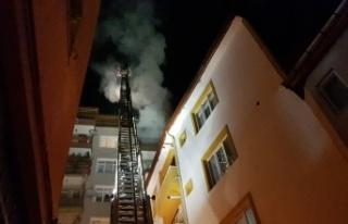 2 ayrı ev yangını hasara yol açtı