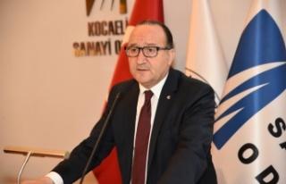 KSO Başkanı Zeytinoğlu kasım ayı sanayi üretimini...
