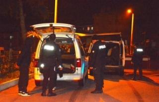 Polisten kaçan 8 düzensiz göçmen ve 3 organizatör...