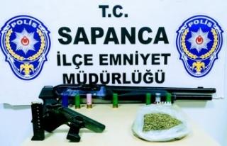 Sakarya'da uyuşturucu operasyonunda 1 şüpheli yakalandı