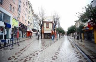 Trakya'da cadde ve sokaklarda sessizlik hakim