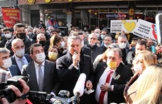 Türkiye Değişim Partisi Genel Başkanı Sarıgül'den...