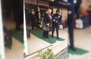 Yalova'da 77 yaşındaki kadının yardımına zabıta...