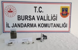 Yenişehir'de uyuşturucu şüphelisi yakalandı