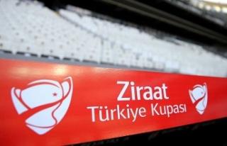 Ziraat Türkiye Kupası'nda çeyrek final maçlarının...
