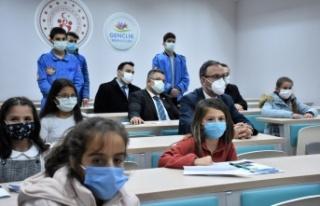 Bakanlar Kasapoğlu ve Dönmez, Bilecik'te