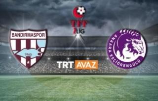 Bandırmaspor-Ankara Keçiörengücü maçının ardından