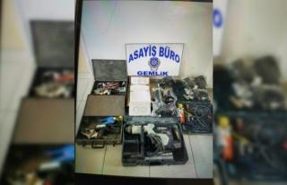 Gemlik'teki hırsızlık şüphelisi 2 kişi tutuklandı