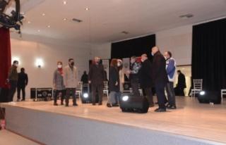 Keşan Belediyesi Kültür Sanat Merkezi'nin yapımında...