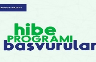 Sabancı Vakfı Hibe Programı'na 346 başvuru...