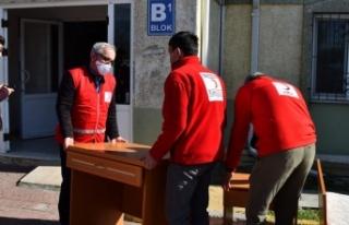 Sakarya Üniversitesi, İdlib'deki selden etkilenen...