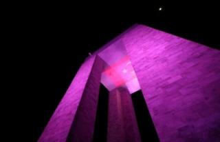Şehitler Abidesi, Çanakkale'yi yeni renkleriyle...