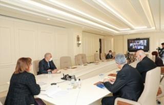 TBB Başkanı Şahin, UNDP toplantısında Suriyeli...
