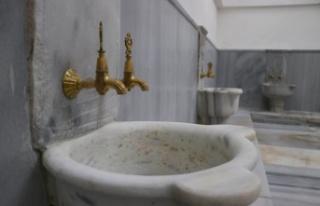 Restorasyonu tamamlanan 400 yıllık Yalı Hamamı...