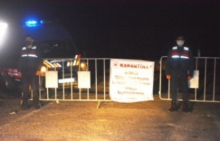 Balıkesir'de üç mahalle karantinaya alındı