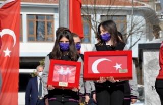Cumhurbaşkanı Erdoğan'a 18 Mart'ta sunulacak toprak,...