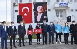 Cumhurbaşkanı Erdoğan'a sunulacak toprak, deniz...