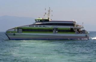 Deniz otobüslerinin 6 seferi iptal edildi
