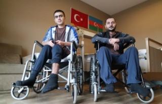 Ermeni saldırılarında yaralanan Azerbaycanlı iki...