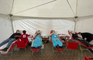 Havsa'da kan bağışı kampanyası gerçekleştirildi