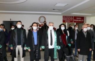 İç Anadolu'da barolardan avukat Ersin Arslan'ın...