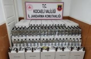 Kocaeli'de 480 litre etil alkol ele geçirildi