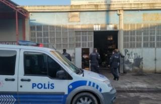 Gebze'de iş yerinden hırsızlık güvenlik...