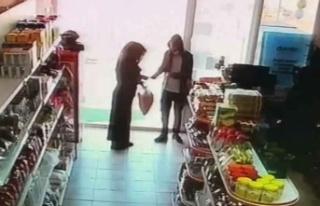 Markette hırsızlık yaparken yakalanınca hamile...