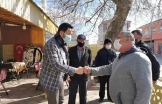 Pınarhisar Belediye Başkanı Talay, esnafı ziyaret...