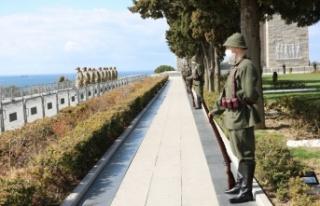 Tarihi Gelibolu Yarımadası'nda Çanakkale Deniz...