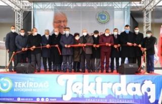 Tekirdağ Büyükşehir Belediyesi Su Ürünleri Toptancı...