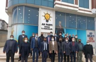 AK Parti İl Başkanı İba, Roman sivil toplum kuruluşu...