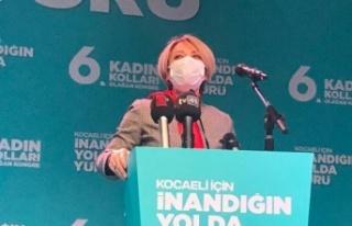 AK Parti Kadın Kolları başkanı Koronaya yakalandı