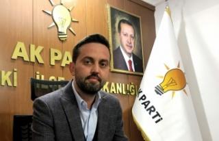AK Parti Lapseki İlçe Başkanı Ergin: