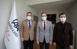 AK Parti Osmangazi İlçe Başkanı Çömez, AA'nın...