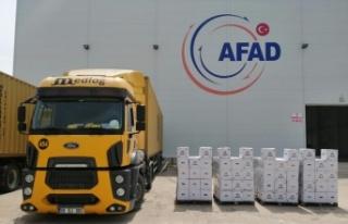 Asyaport'dan ihtiyaç sahiplerine 2 bin gıda kolisi...