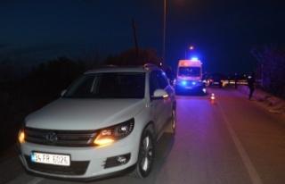 Balıkesir'de zincirleme trafik kazasında 1 kişi...