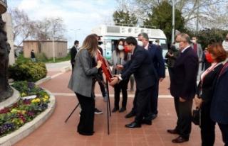 CHP Genel Başkan Yardımcısı Muharrem Erkek, Yalova'da...
