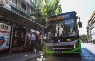 Denizli'de 10 otobüs hattı ALES için çalışacak