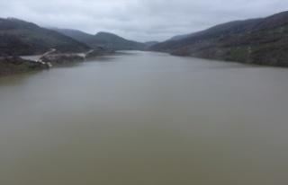 Hasanlar Barajı'nda su seviyesi tam kapasiteye...