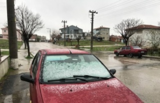 Edirne ve Kırklareli'nde kar yağışı başladı