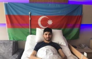 Ermenistan'ın havan saldırısında yaralanan Azerbaycanlı...