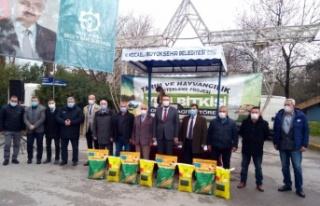 Kocaeli'de yüzde 50 hibeli tohumların dağıtımı...