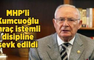 MHP'li Kumcuoğlu ihraç istemli disipline sevk...