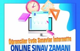 Muğla Büyükşehir'den öğrencilere online...