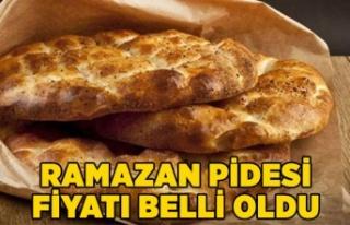 Ramazan pidesi fiyatı belli oldu